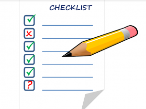 Tips over kamperen, checklist